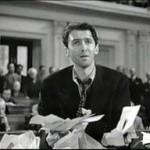 James Stewart as Jefferson Smith in Mr. Smith Goes to Washington
